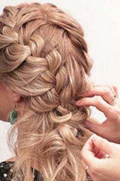 Плетение косы для редких волос