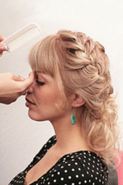 салон заплетение волос игра